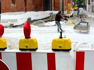 Zum Teil ist auch mit Verkehrsbehinderungen zu rechnen.