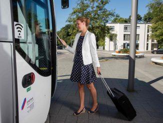 127.615 Fahrgäste nutzten 2016 den Airport-Express
