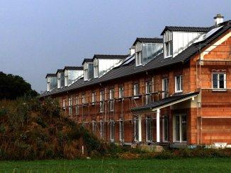 Das Friedrichshofener Baugebiet im Westen Ingolstadts