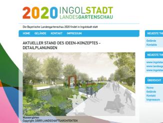 Auch die Landesgartenschau 2020 ist im April Thema im Stadtrat