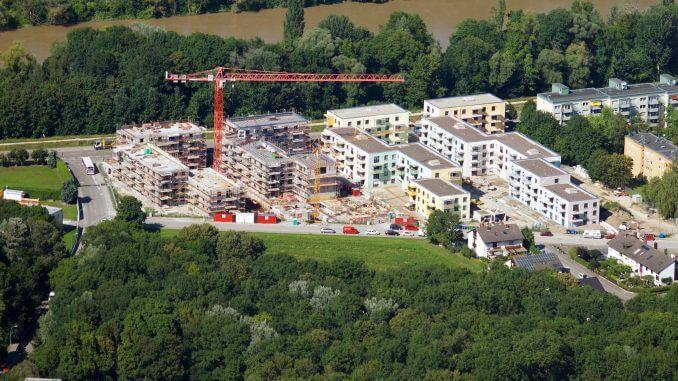 Das Neubauprojekt Peisserstraße der GWG im Ingolstädter Südosten