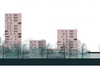 """Der 1. Preis beim Architekturwettbewerb """"Stargarder Straße"""""""
