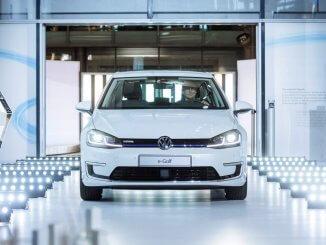 Neuer Hoffnungsträger: Der e-Golf wird ab April 2017 in der Gläsernen Manufaktur in Dresden gebaut.