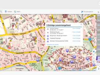 Der interaktive Ingolstädter Stadtplan im WWW