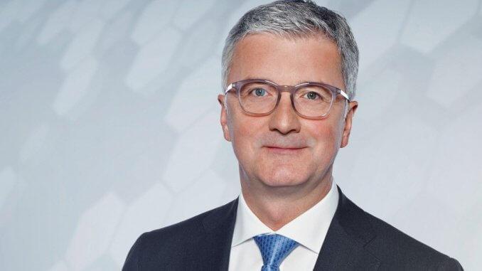 Prof. Rupert Stadler, Vorstandsvorsitzender Audi AG