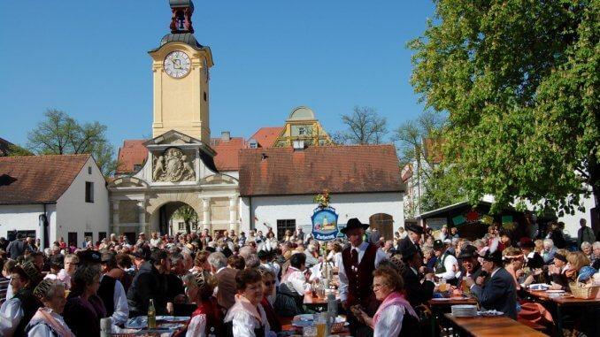 Das beliebte Georgifest in Ingolstadt