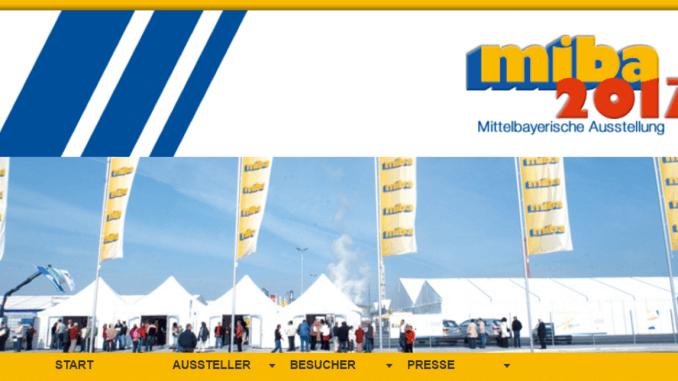 Marktplatz der Region seit 1967: die Mittelbayerische Ausstellung