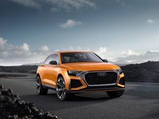 Audi Q8 sport concept, Farbe: Kryptonorange
