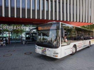 Die Verbindung vom Hauptbahnhof von/bis zur AUDI AG ist mit der Linie 11 weiterhin gewährleistet.
