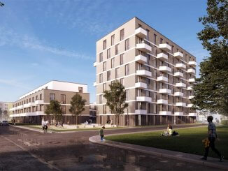 In der Hebbelstraße sollen 102 Wohnungen entstehen