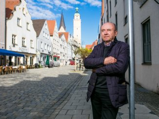 Ehrenbürger Hermann Regensburger