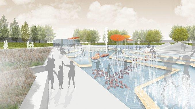 Ideen für eine Wasserspielfläche
