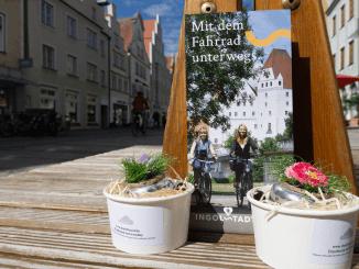Mit ausführlicher Darstellung des Radwegenetzes im Herzen Bayerns