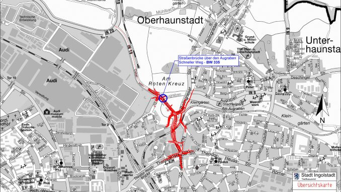 Lückenschluss östlich des Audi-Werks