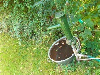 Betriebswasser für das Gießen im Garten